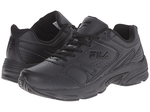 Fila - Workplace (Black/Black/Black) Women's Shoes