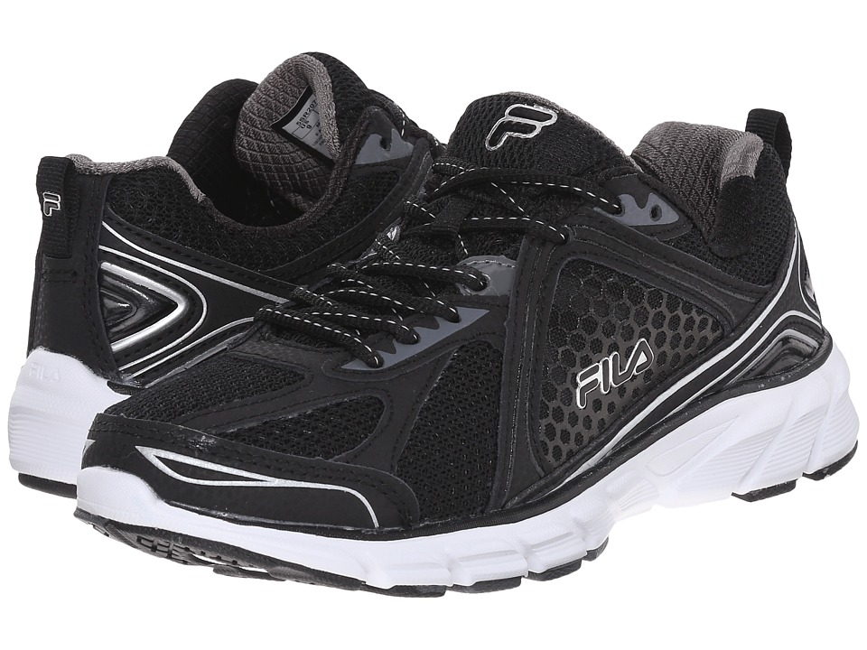 Fila Threshold 3 (Black/Black/Metallic Silver) Women