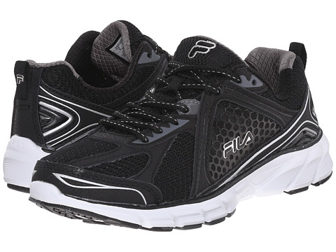 Fila - Threshold 3 (Black/Black/Metallic Silver) Women's Shoes