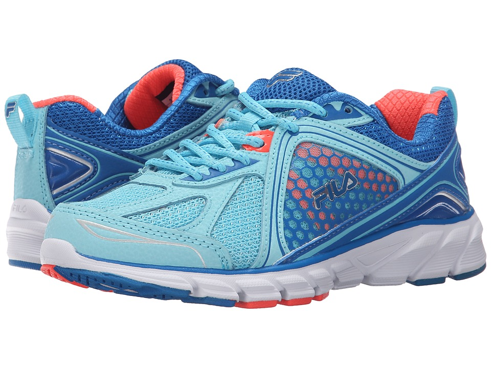 Fila - Threshold 3 (Bluefish/Electric Blue/Fiery Coral) Women's Shoes