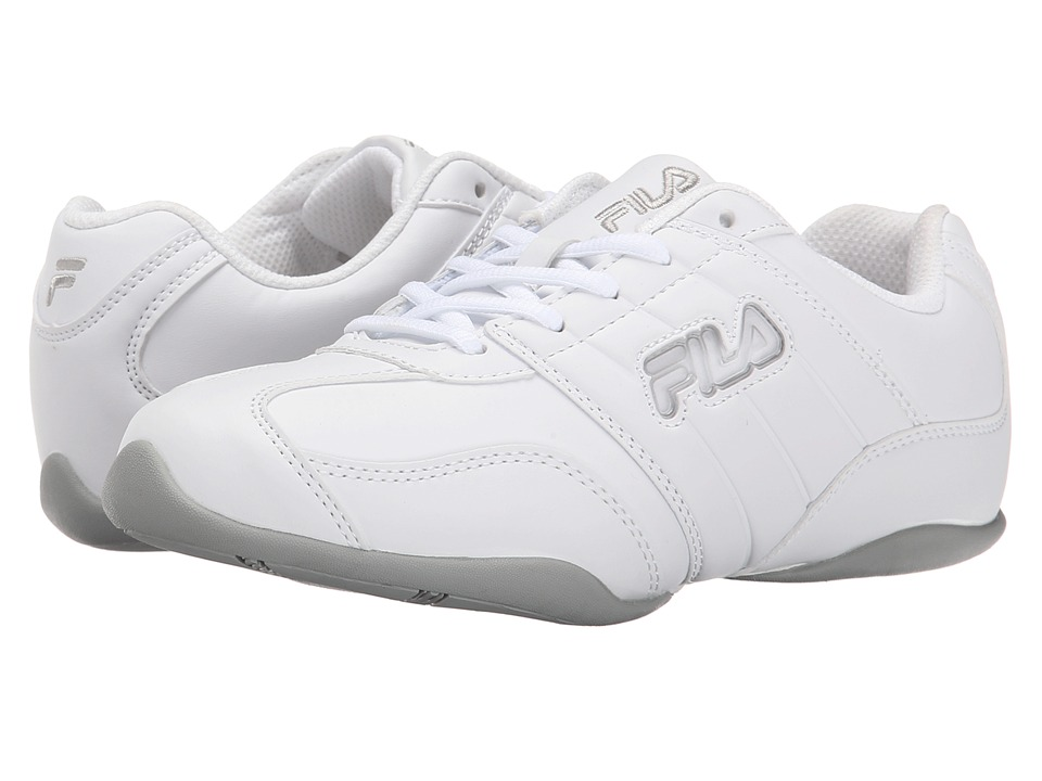 Fila - Jumper (White/High Rise/Metallic Silver) Women