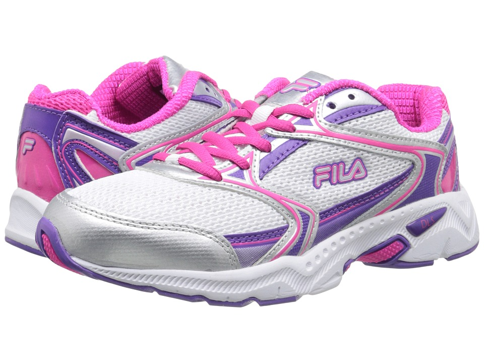 Fila - Xtent 2 (White/Electric Purple/Pink Glo) Women's Running Shoes