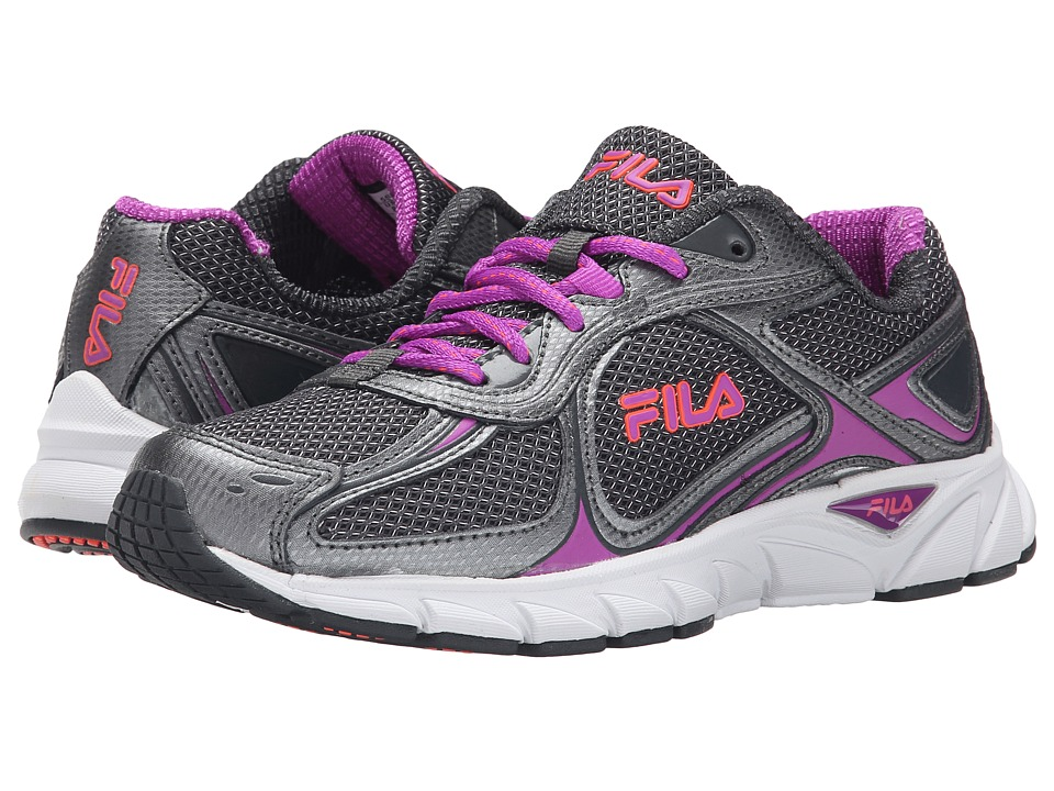Fila - Quadrix (Dark Shadow/Purple Cactus Flower) Women