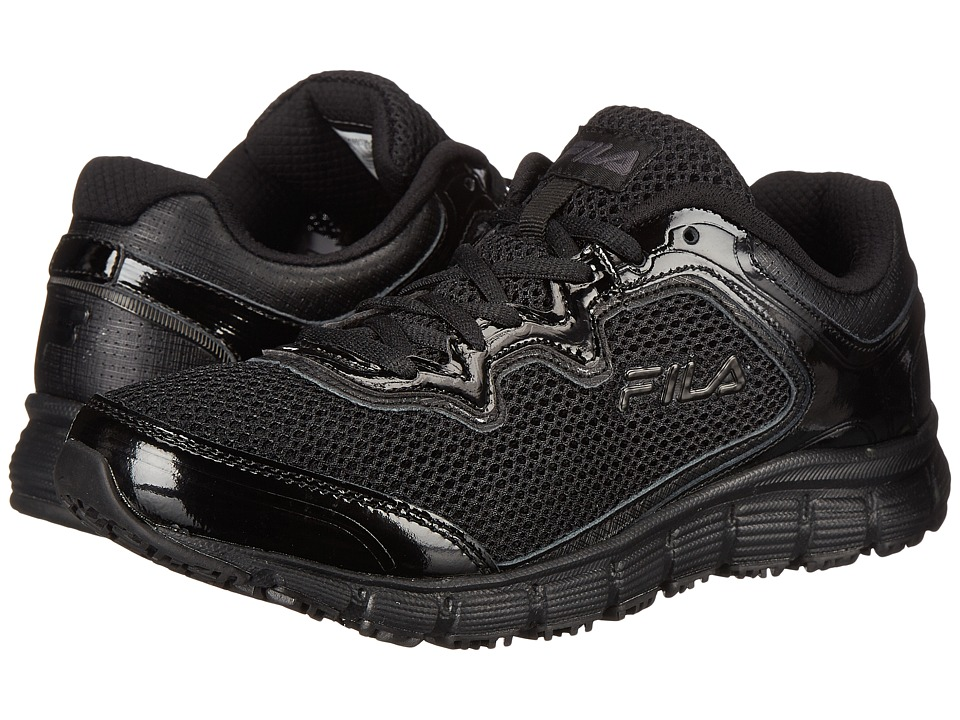Fila - Memory Fresh Start SR (Black/Black/Metallic Silver) Women