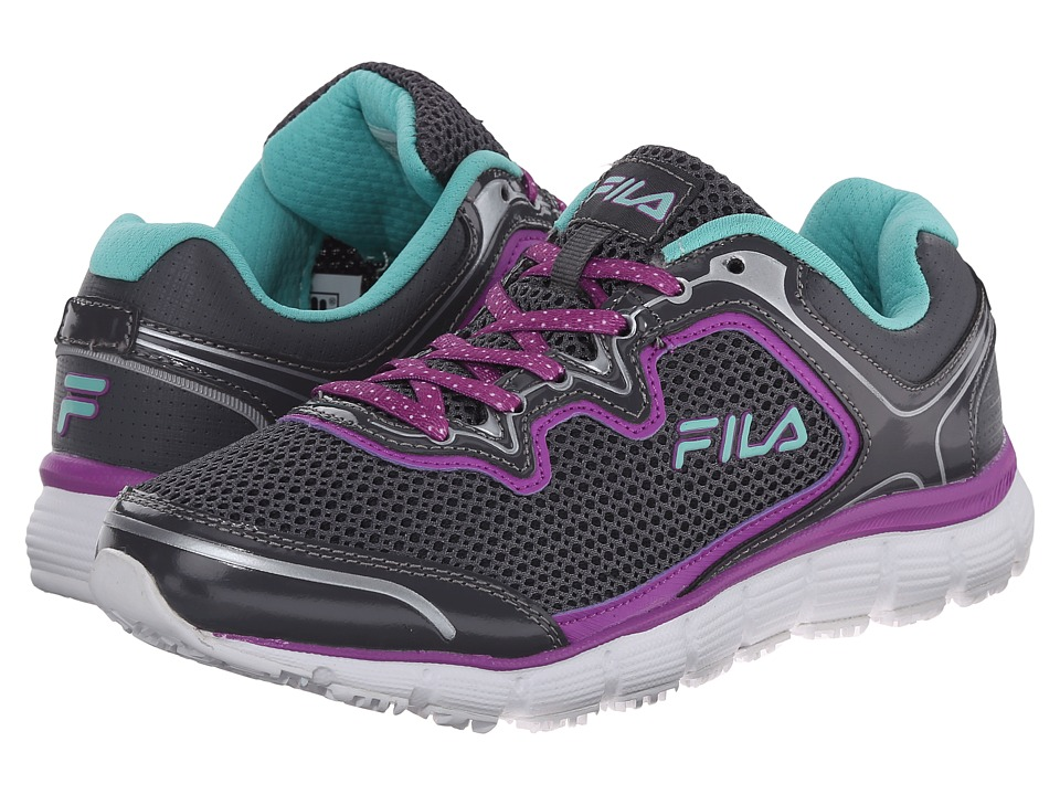 Fila - Memory Fresh Start SR (Castlerock/Purple Cactus Flower/Cockatoo) Women's Shoes