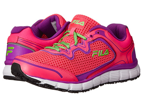 Fila - Memory Fresh Start SR (Knockout Pink/Purple Cactus Flower/White) Women's Shoes