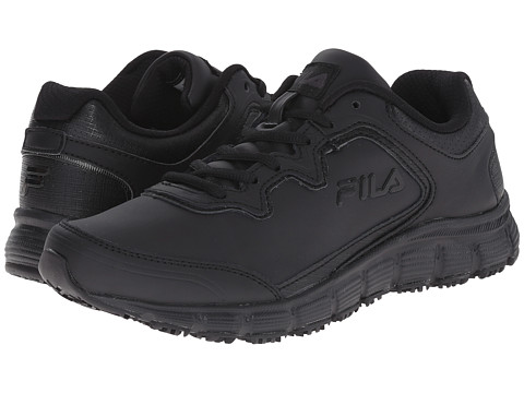 Fila - Memory Fresh Start SR (Black/Black/Black) Women's Shoes