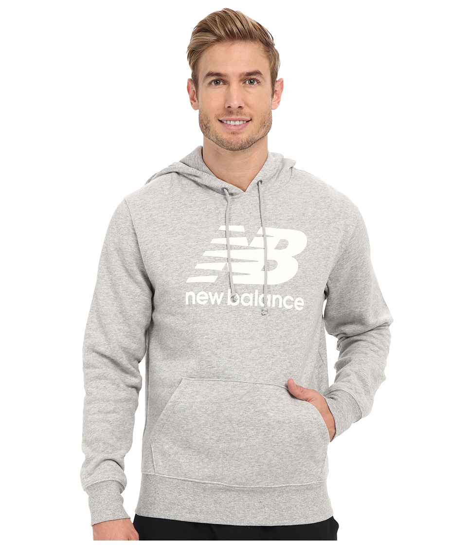 New Balance - Essentials Hoodie (Althetic Grey) Men