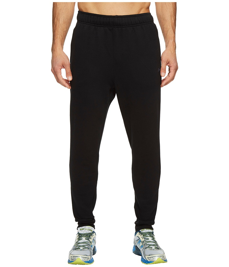 New Balance - Essential Tapered Pants (Black) Men's Casual Pants