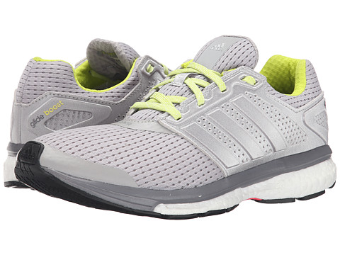 adidas - Supernova Glide 7 (Light Grey/Silver/Solid Grey) Women