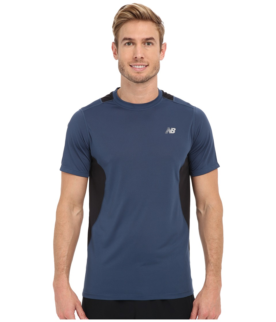 New Balance - Core 5K Run Tech Top (Gravity) Men's Clothing