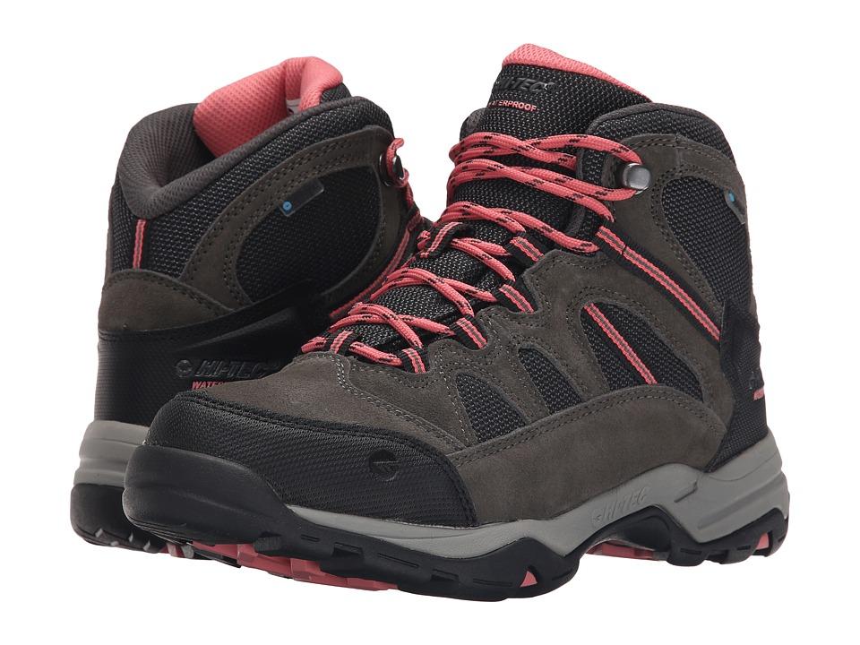 Hi-Tec - Bandera Mid II WP (Charcoal/Graphite/Blossom) Women's Boots