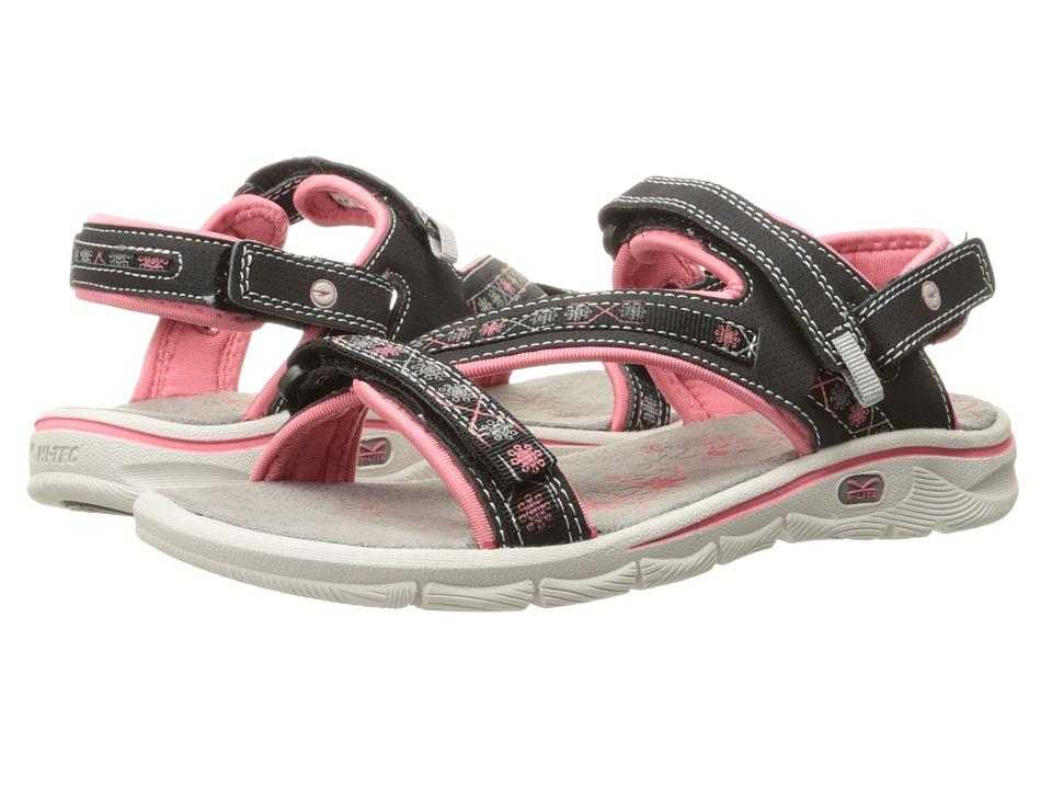 Hi-Tec - Soul-Riderz Life Strap (Black/Blossom) Women's Boots