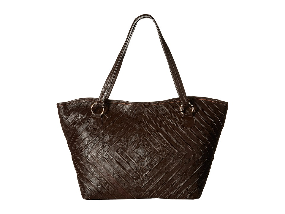 Gabriella Rocha - Leather Satchel (Brown) Satchel Handbags