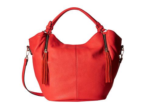 Gabriella Rocha - Zip Accent Satchel (Red) Satchel Handbags