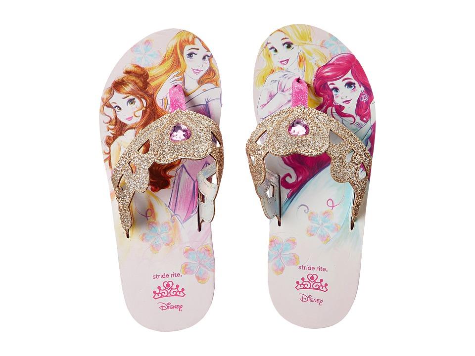 Stride Rite - Disney(r) Multi Princess Eva (Toddler/Little Kid) (Grey/Pink) Girls Shoes