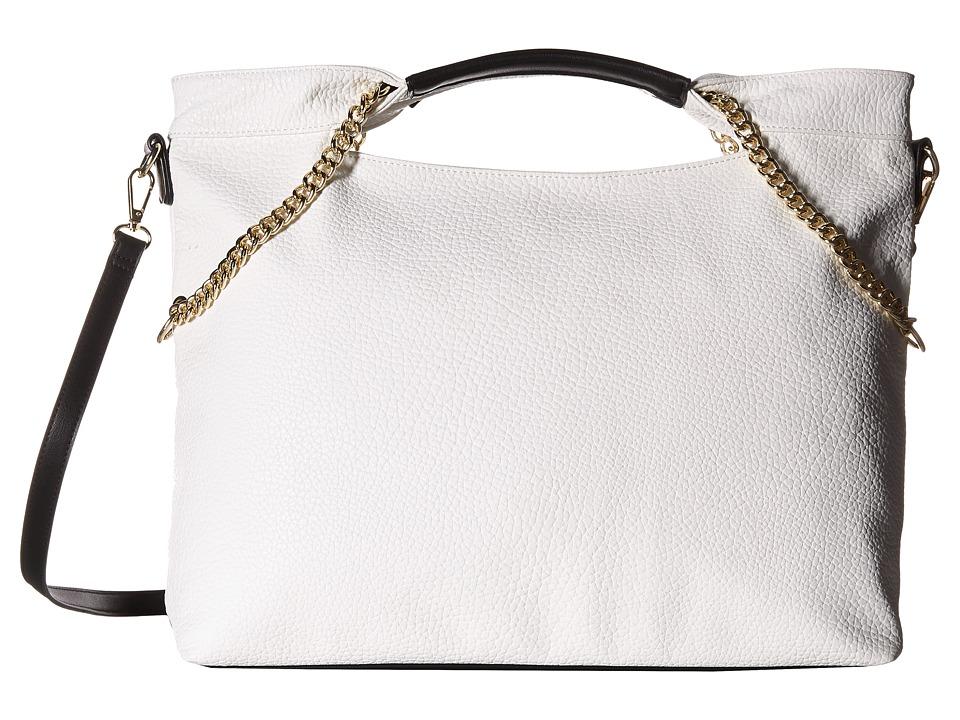 Gabriella Rocha - Chain Tote (White) Tote Handbags