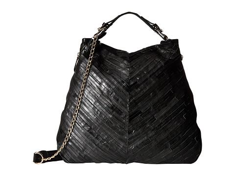 Gabriella Rocha - Leather Weave Tote (Black) Tote Handbags
