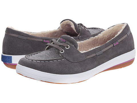Keds - Glimmer Boat (Pewter) Women's Shoes