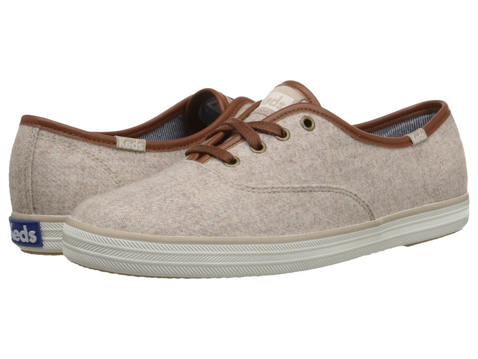Keds - Champion Wool (Oatmeal) Women's Shoes