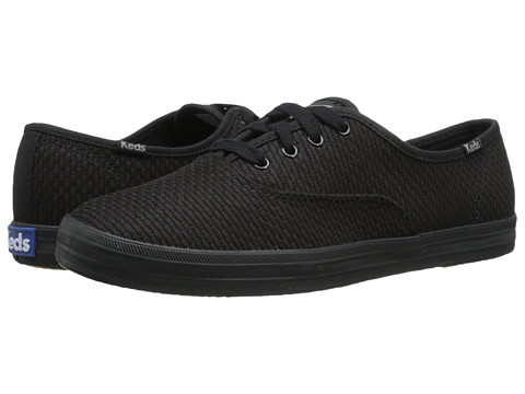 Keds - Champion Textured (Black) Women's Shoes