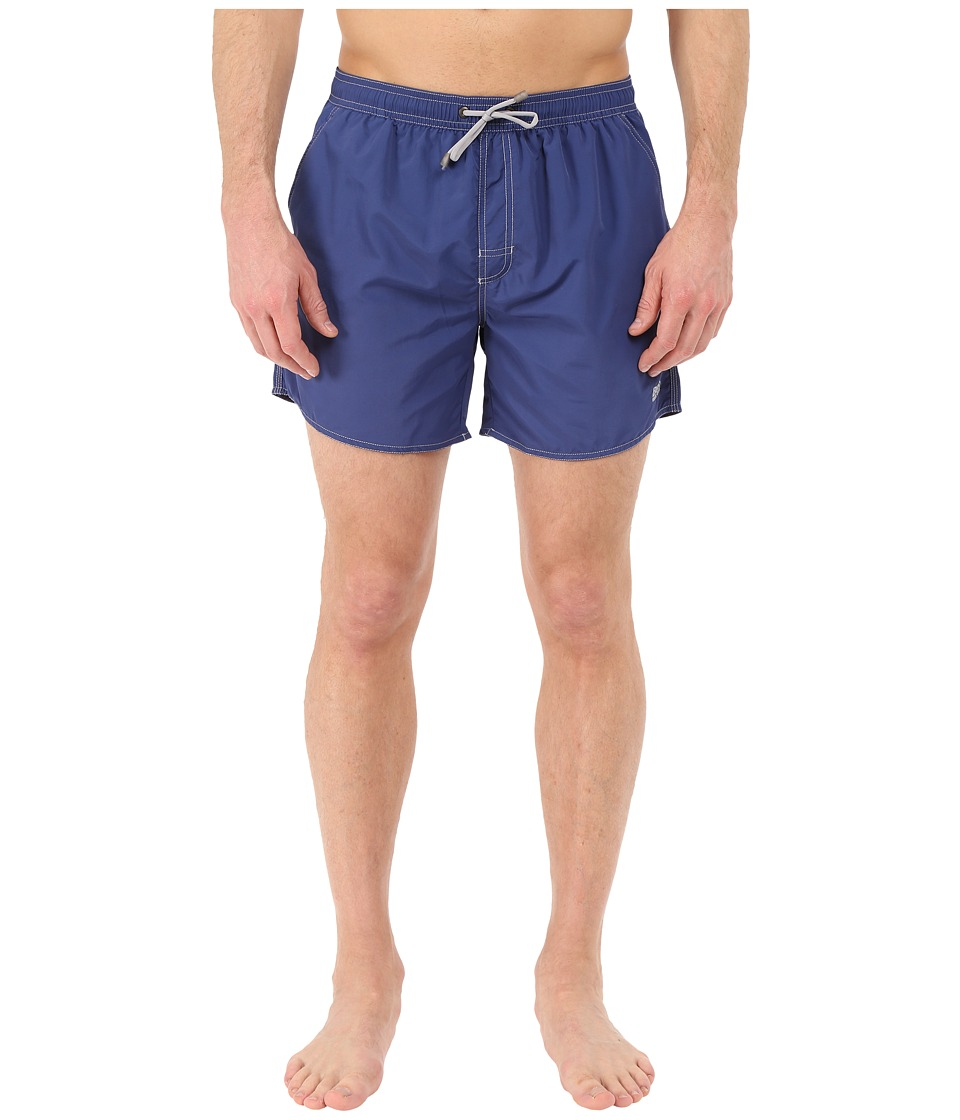BOSS Hugo Boss - Lobster 10155742 01 Swim Shorts (Navy) Men's Swimwear