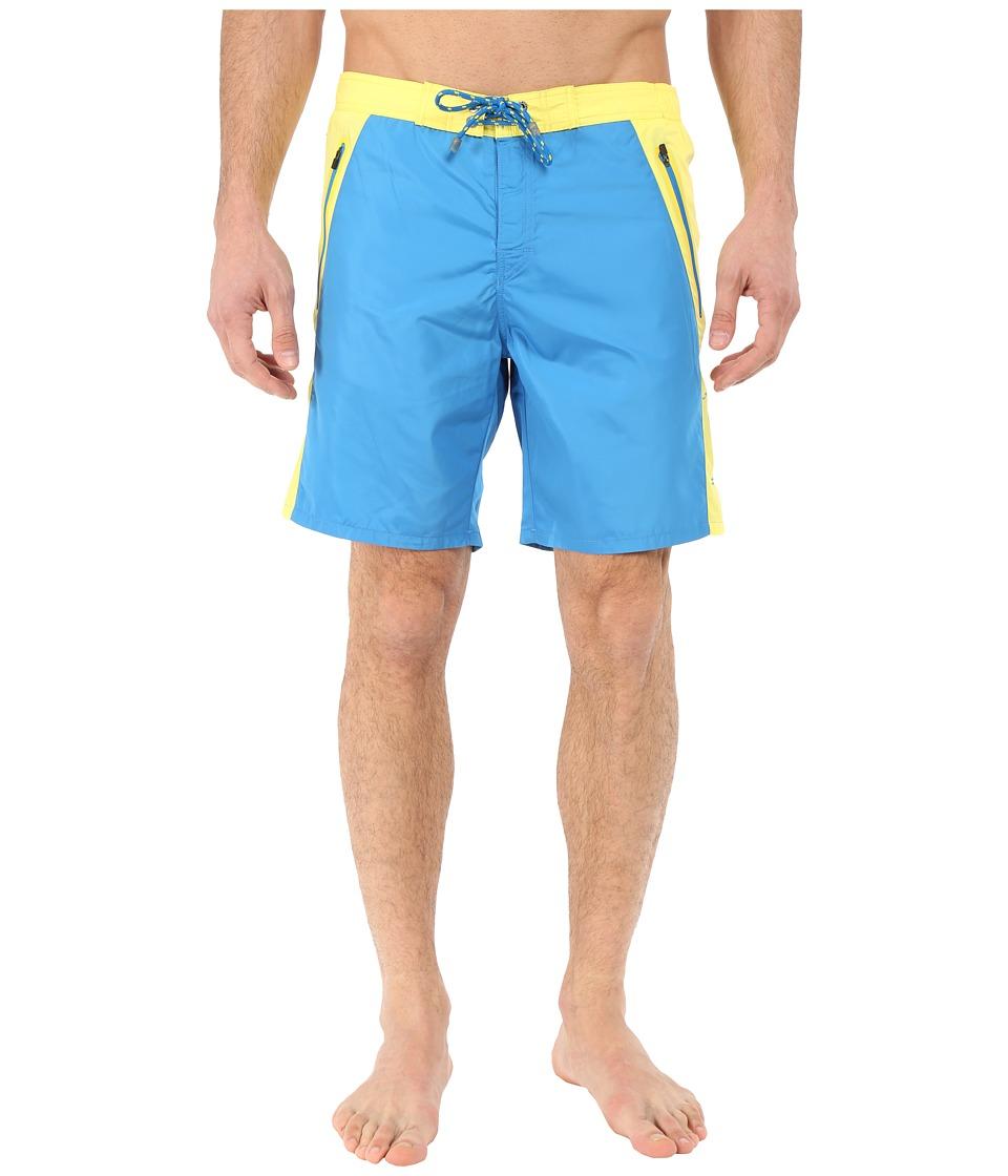 BOSS Hugo Boss - Prowfish 10182762 01 Swim Trunk (Open Blue) Men's Swimwear