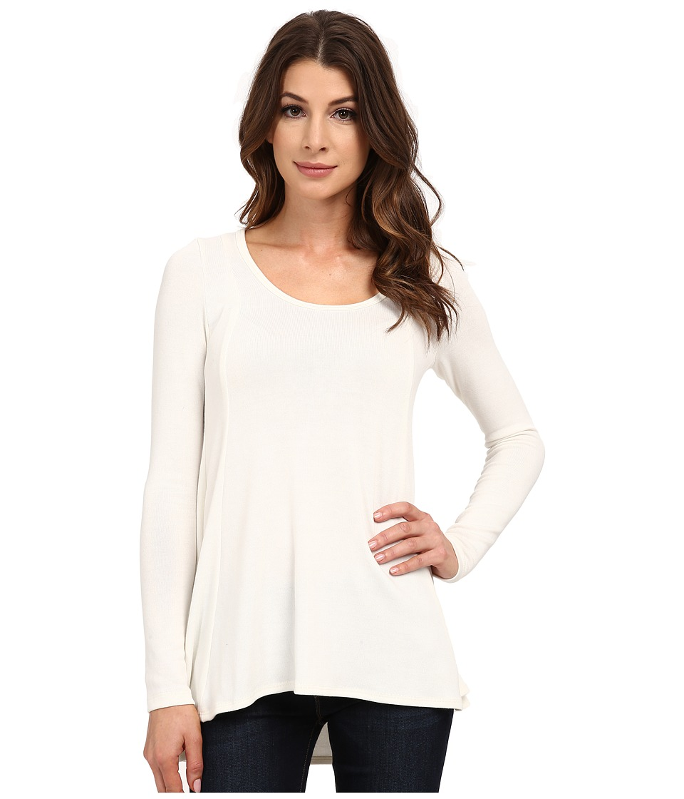 Karen Kane - Seam Detail Sweater (Cream) Women's Sweater