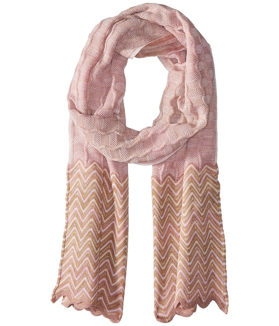Missoni - SC36WMD5117 (Dusty Rose) Scarves