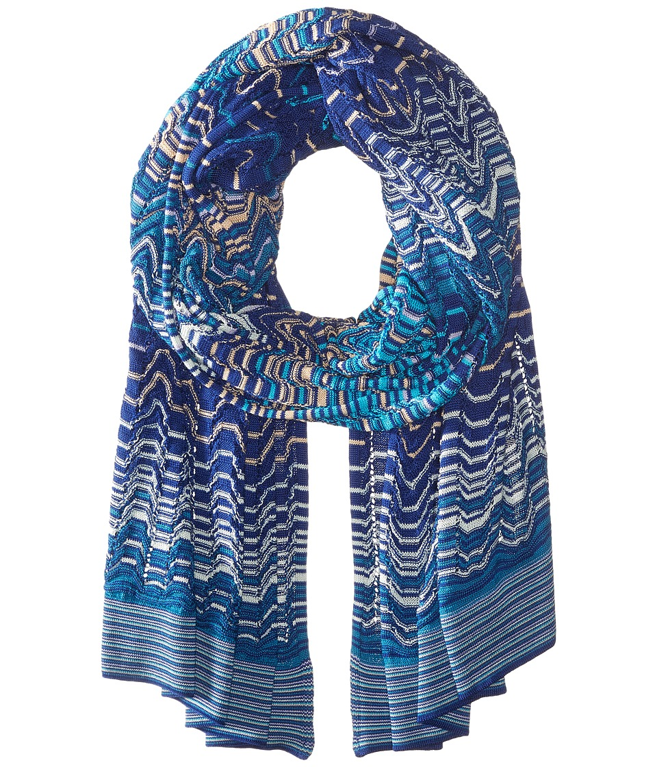 Missoni - SC15WMD5108 (Blue/Turquoise) Scarves