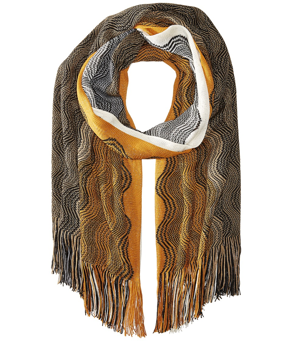 Missoni - SA73WMD5181 (Orange/Grey) Scarves