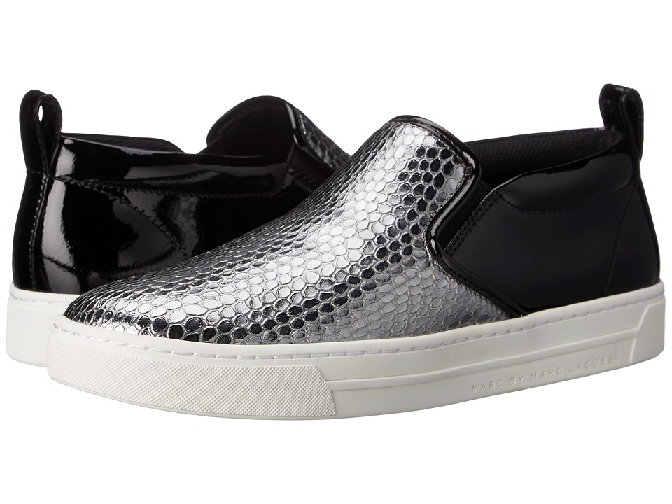 Marc by Marc Jacobs Broome Skate Sneaker (Dark Silver) Women