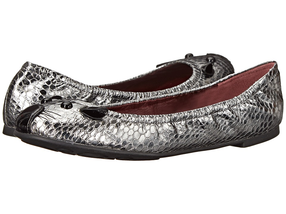 Marc by Marc Jacobs - Sacchetto Mouse (Dark Silver) Women's Slip on Shoes