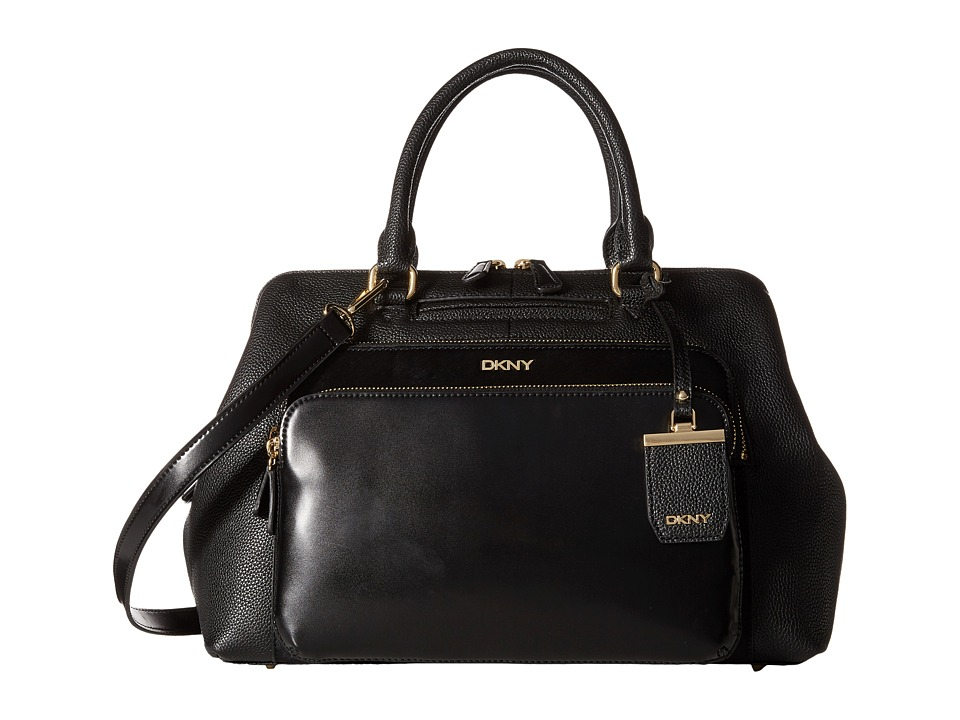DKNY - Vintage Satchel (Black) Satchel Handbags