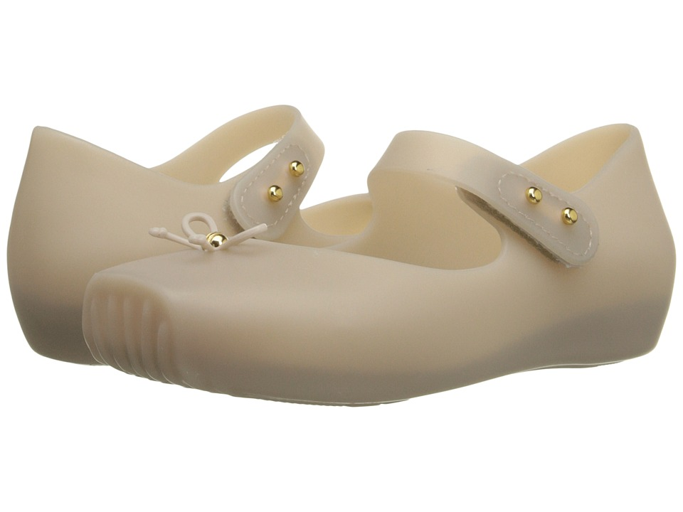Mini Melissa - Mini Ballet (Toddler) (Beige 2) Girls Shoes