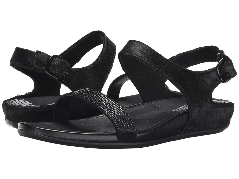 FitFlop - Banda Micro-Crystal Sandal (All Black) Women's Shoes