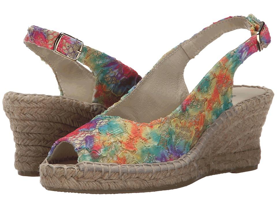 Sesto Meucci - 2659HPO (Multi Woods Stock/Multi) Women's Sling Back Shoes