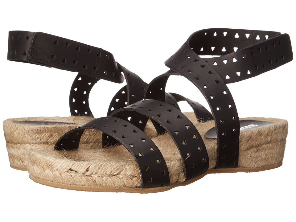 Sesto Meucci - 5300 (Black Vaqueta Picada) Women's Sandals