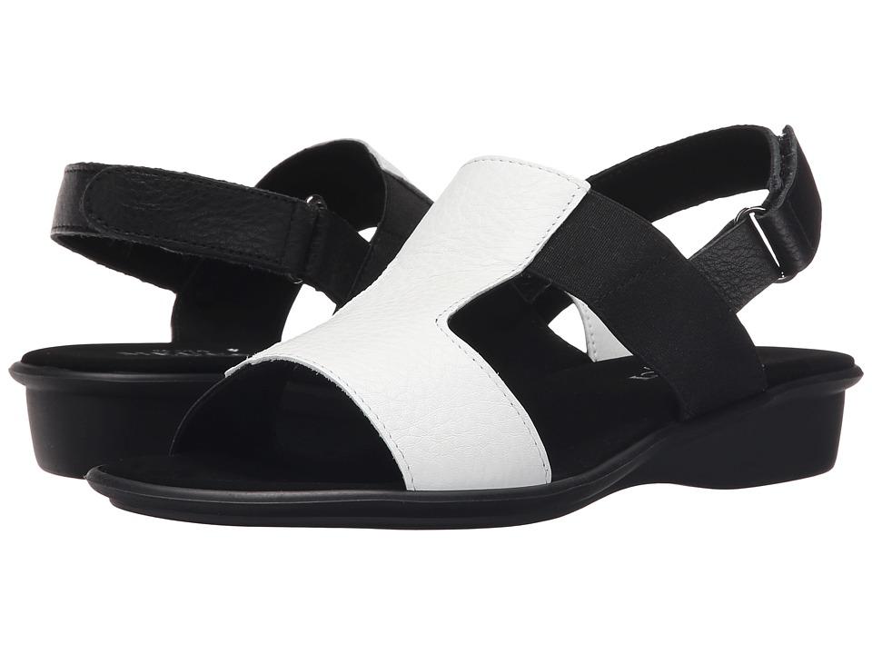 Sesto Meucci - Eudore (White Saratoga/Black Sara/Black Elastic Co4) Women's Sandals
