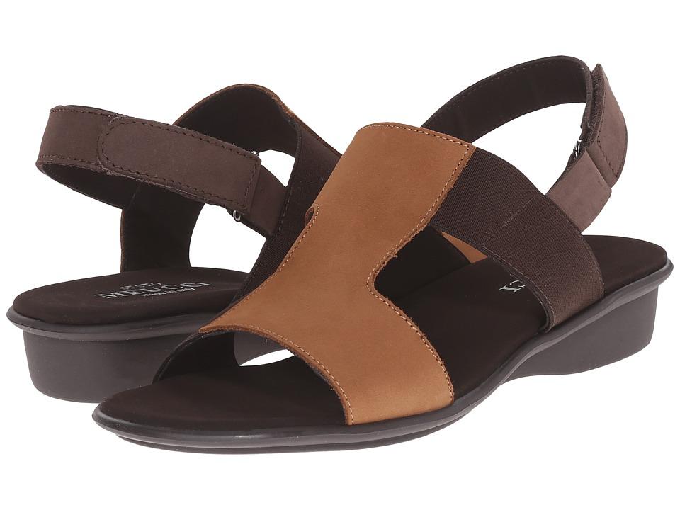 Sesto Meucci - Eudore (Viso Nabuk/Tmoro Nabuk/Tmoro Elastic Co2) Women's Sandals