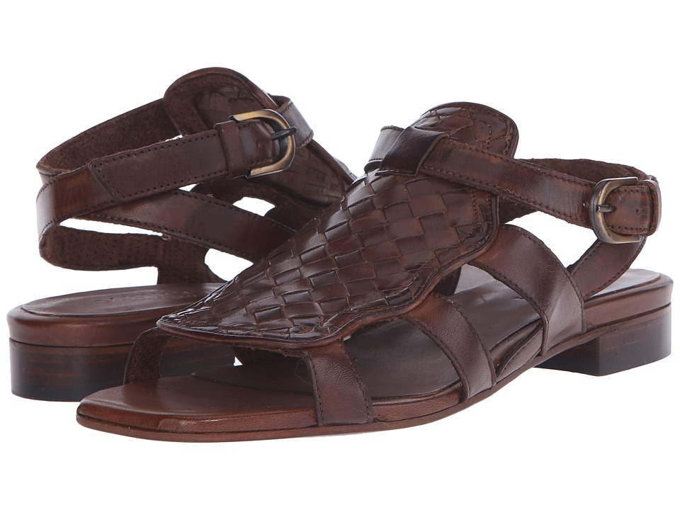 Sesto Meucci - Galia (Dark Tan Stained Xalf) Women