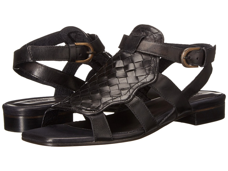 Sesto Meucci - Galia (Black Stained Calf) Women's Sandals
