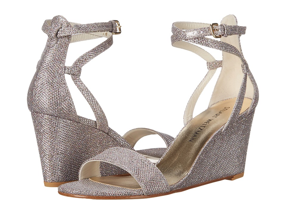 Stuart Weitzman - Backdraft (Multi Noir) Women's Wedge Shoes