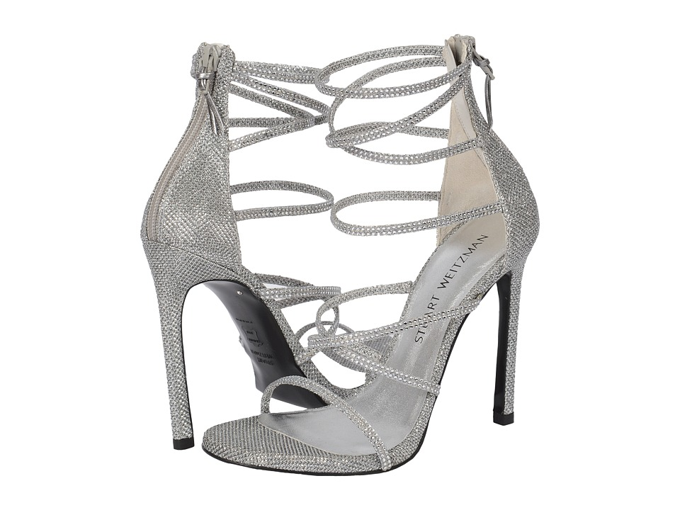 Stuart Weitzman Bridal & Evening Collection - Galaxy (Silver Noir) Women's Bridal Shoes