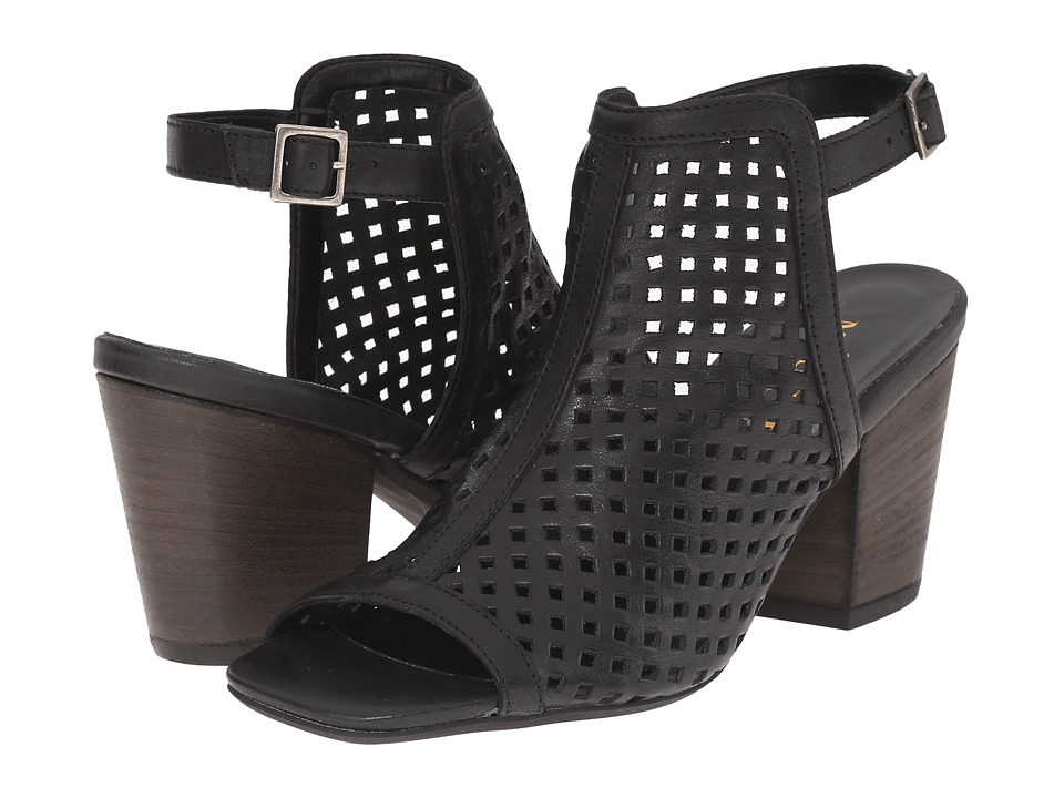 Sesto Meucci - Mattie (Black Vacchetta) Women's Sandals