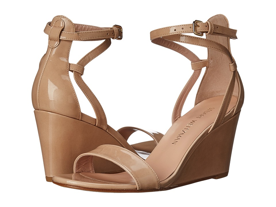 Stuart Weitzman Backdraft (Bambina Aniline) Women's Wedge Shoes