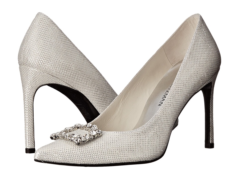 Stuart Weitzman Bridal & Evening Collection Divineheist (Argento Noir) Women