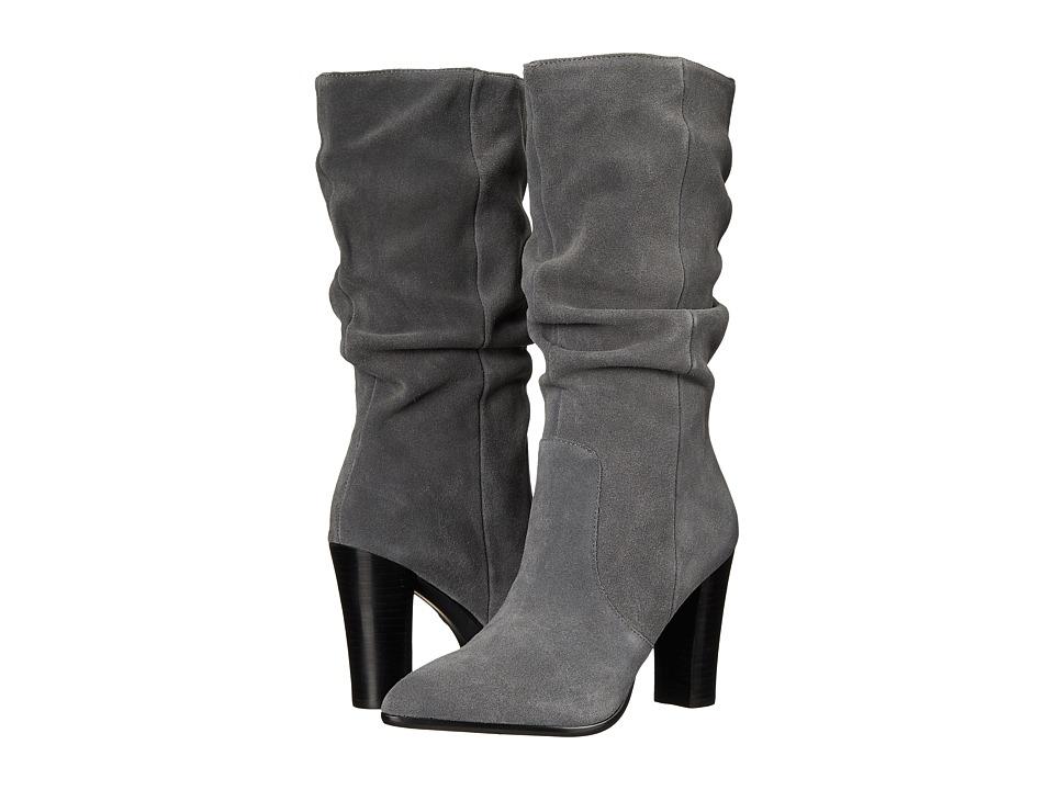 Tahari - Alana (Elephan Grey Calf Suede) Women's Boots