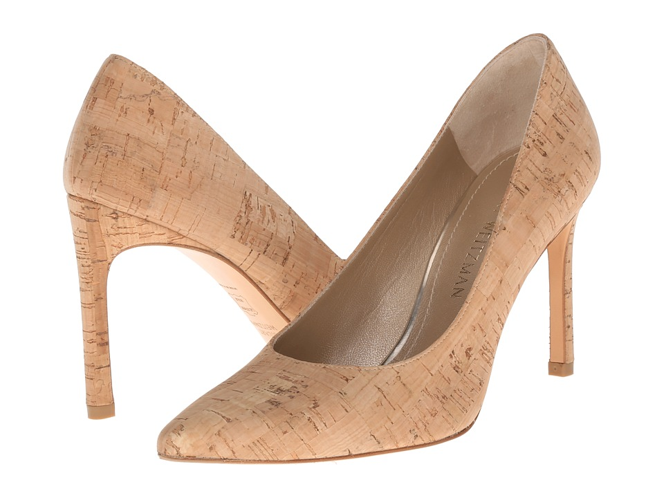 Stuart Weitzman - Heist (Natural Cork) High Heels