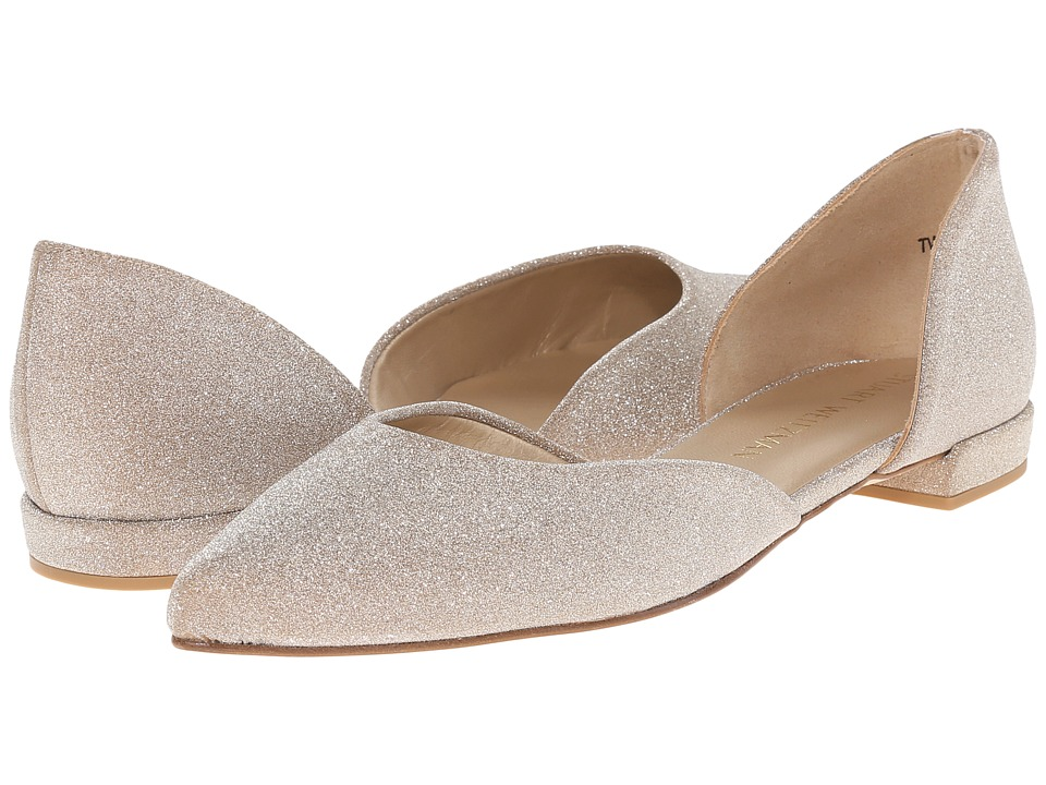 Stuart Weitzman Bridal & Evening Collection - Twodays (Dark Gold Glitterati) Women's Bridal Shoes